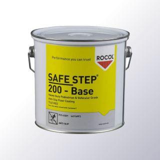 SAFE STEP 200 ist eine hochleistungsfähige, aus zwei Komponenten bestehende rutschfeste Epoxidester-Bodenbeschichtung zur Anwendung in Bereichen mit starkem Fahrzeugverkehr.