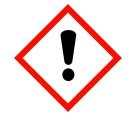 Gefahrenpiktogramme:  GHS07: Ausrufezeichen