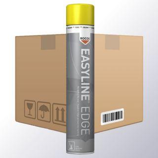 Easyline EDGE Linienmarkierungsspray gelb VPE6