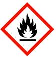 Sicherheitshinweise: Gefahrenpiktogramme: GHS02: Flamme